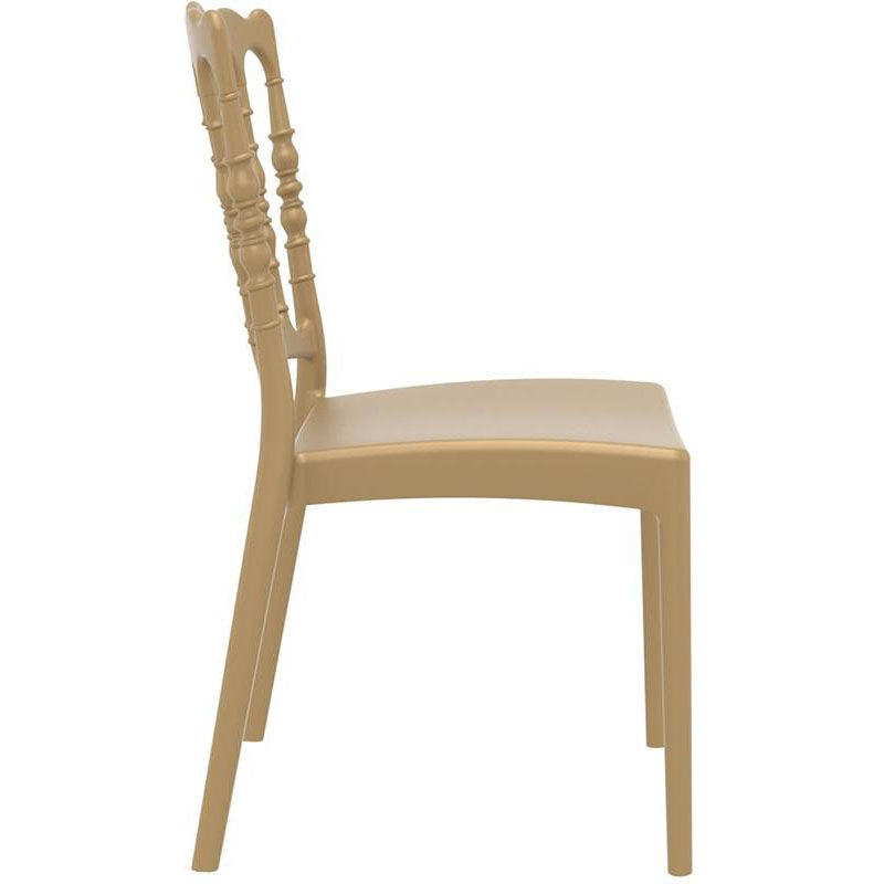 Attractive Our Napoleon Outdoor Resin Stackable Wedding Chair   Gold Is On Sale Now.