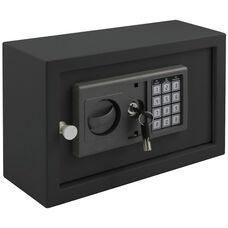 12.2''W x 4.3''D x 7.8''H Electronic Drawer Safe - Black