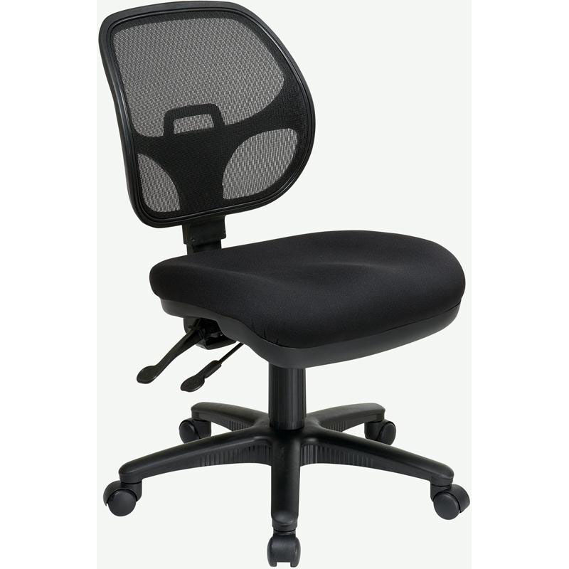 ... Our Pro-Line II Armless Ergonomic Task Chair with ProGridu0026reg; Back and Adjustable Contoured ...  sc 1 st  Restaurant Furniture 4 Less & Pro Line II Ergonomic Task Chair 2902-30 | RestaurantFurniture4Less.com