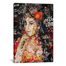 12 Amy by Ines Kouidis Gallery Wrapped Canvas Artwork