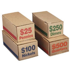 PM Company Securit Coin Boxes - Pack Of 50