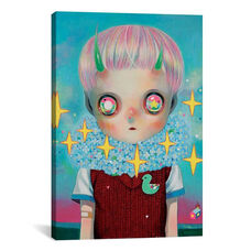 Children of this Planet Series: #26 by Hikari Shimoda Gallery Wrapped Canvas Artwork with Floating Frame - 27