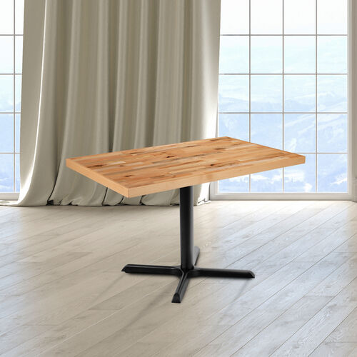 "30"" x 48"" Rectangle Butcher Block Style Table Top"