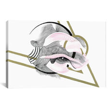 Stream by Illustrating Rain Gallery Wrapped Canvas Artwork
