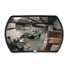 See-All Industries Rounded Rectangular Convex Mirrors