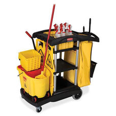 Rubbermaid Commercial Products High-Capacity Cleaning Cart - 20.5