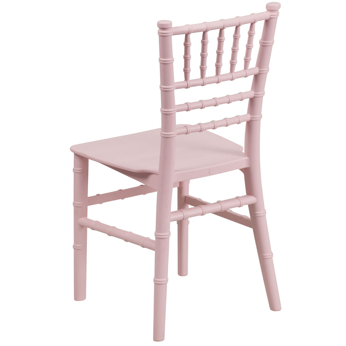 Kid Cafe Furniture: Kids Pink Resin Chiavari Chair