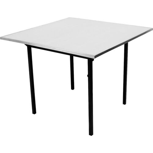 Original Series Square Banquet Table with Aluminum Edge and Mayfoam Top - 60