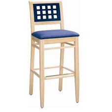 592 Bar Stool w/ Upholstered Seat - Grade 1