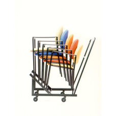 Stacking Dolly For Rainbow Round And Square Back Chairs