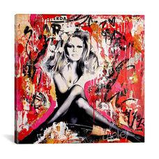 Brigitte Is In St.Tropez Again II by Michiel Folkers Gallery Wrapped Canvas Artwork