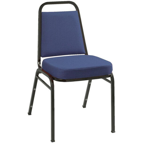 Our 800 Series Stacking Armless Hospitality Chair with Trapezoid Back and 2