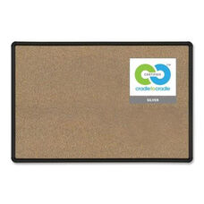 Balt Cork Board - with Mounting Hardware - 3