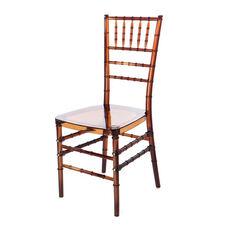 Mirage Polycarbonate Chiavari Chair - Set of 2 - Amber