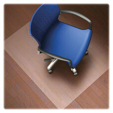 Lorell Hard Floor Chairmat - Rectangular - Clear