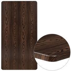 """30"""" x 60"""" Rectangular Rustic Wood Laminate Table Top"""