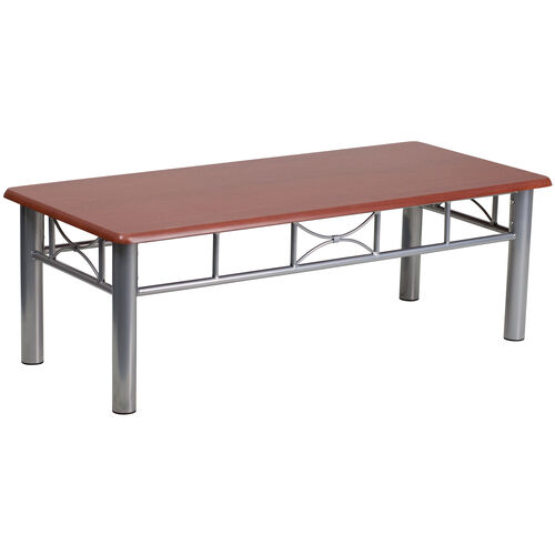 Laminate Coffee Table with Steel Frame