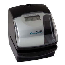 Acroprint Time Recorder Es900 Electronic Stamp/Time Recorder