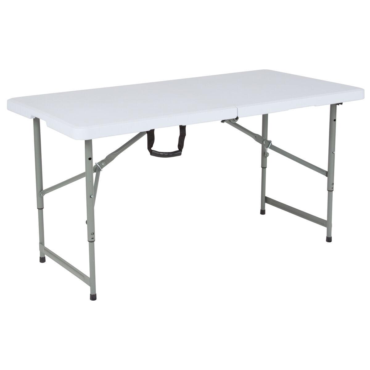 24x48 white bi fold table rb 2448adj gg restaurantfurniture4less com