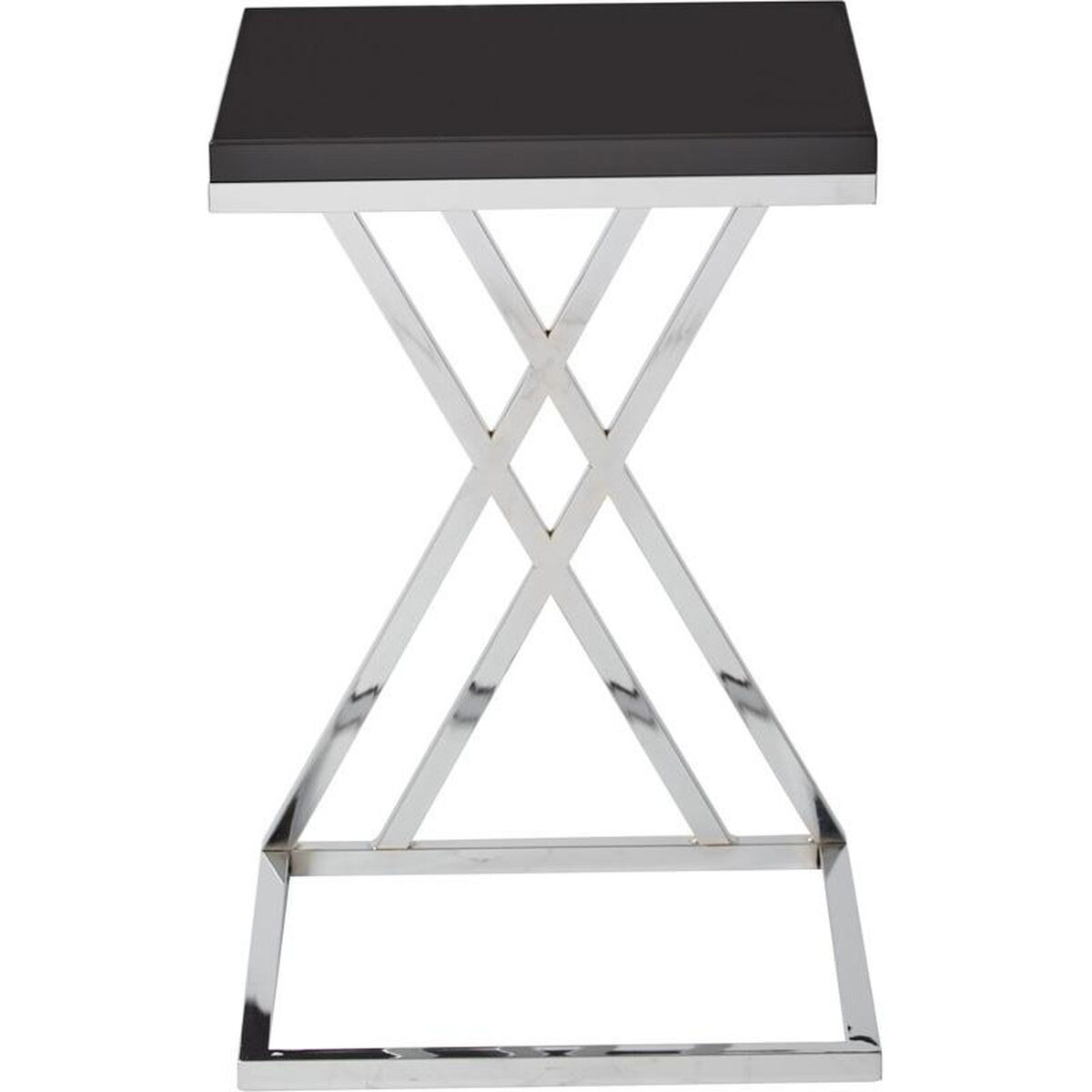 Ave Six Black Side Table Wst16 Bk