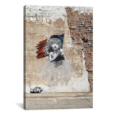 Les Miserables on Brick by 5by5collective Gallery Wrapped Canvas Artwork