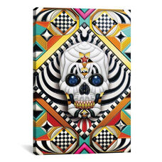 Geometric Skull by Giulio Rossi Gallery Wrapped Canvas Artwork