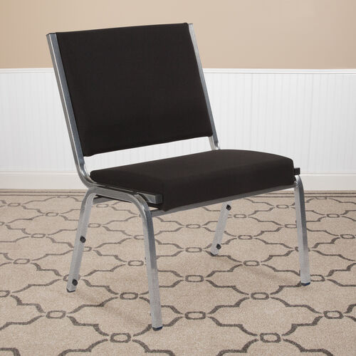 Our HERCULES Series 1500 lb. Rated Black Antimicrobial Fabric Bariatric Antimicrobial Medical Reception Chair is on sale now.