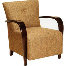 1134 Lounge Chair w/ Upholstered Seat & Back - Grade 1