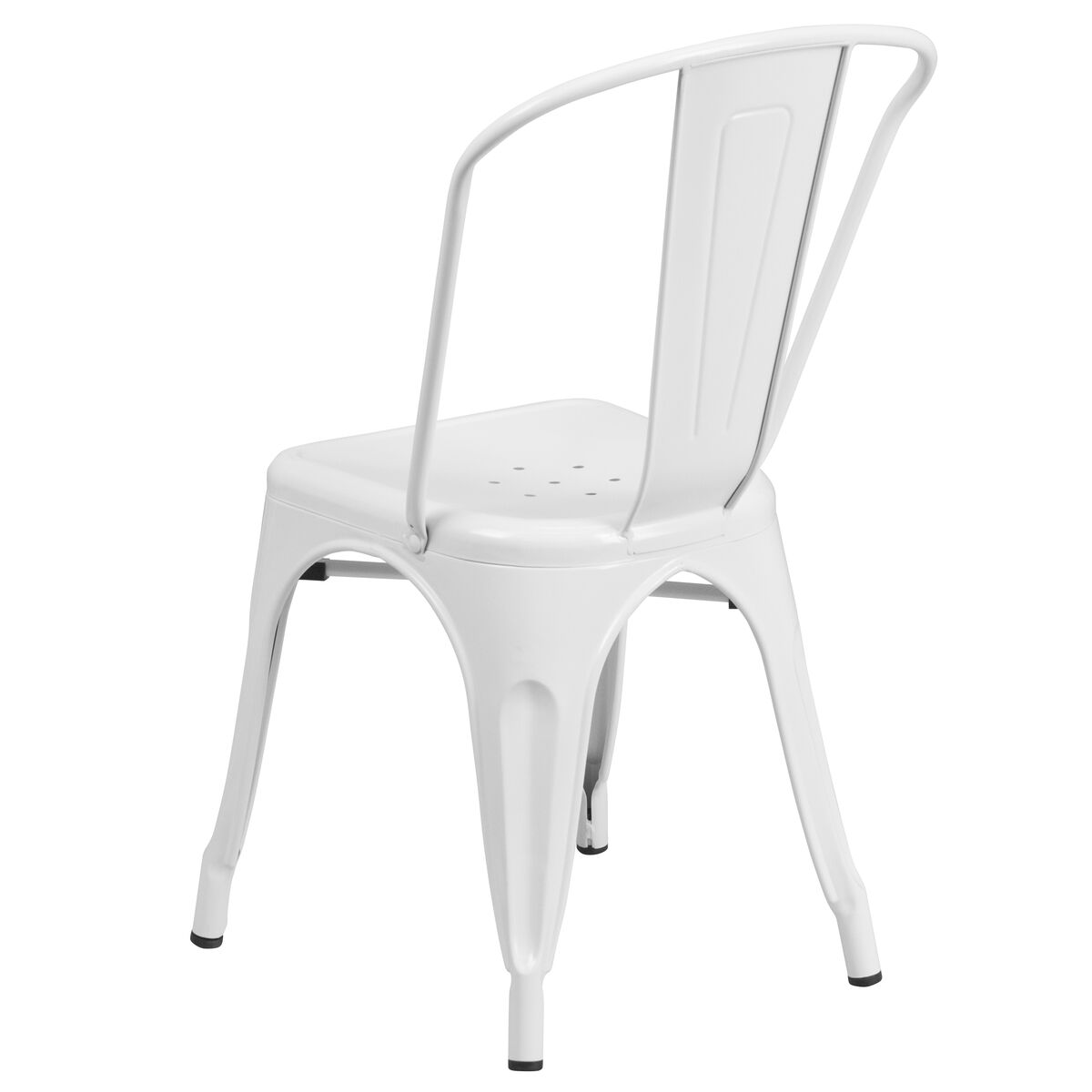 Cool White Metal Indoor Outdoor Stackable Chair Unemploymentrelief Wooden Chair Designs For Living Room Unemploymentrelieforg