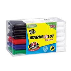 Avery Dry -Erase Markers - Bullet Tip - 24/PK - Asst