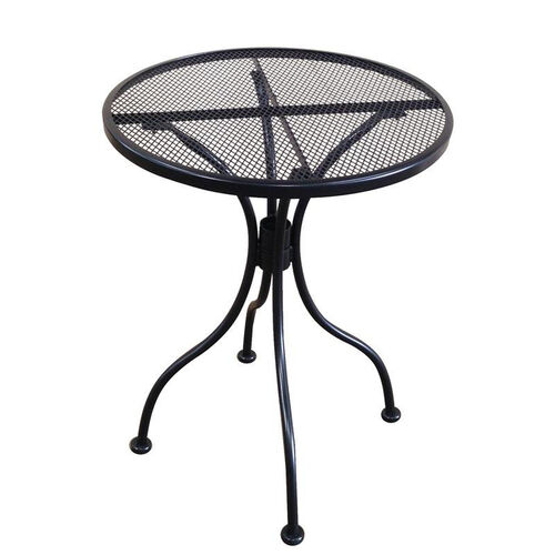 Our Outdoor Wrought Iron Table with 24