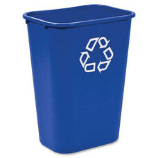 Rubbermaid Commercial Products Commercial Large Deskside Recycling Container - 11