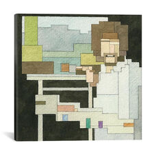 Bob Ross #1 by Adam Lister Gallery Wrapped Canvas Artwork
