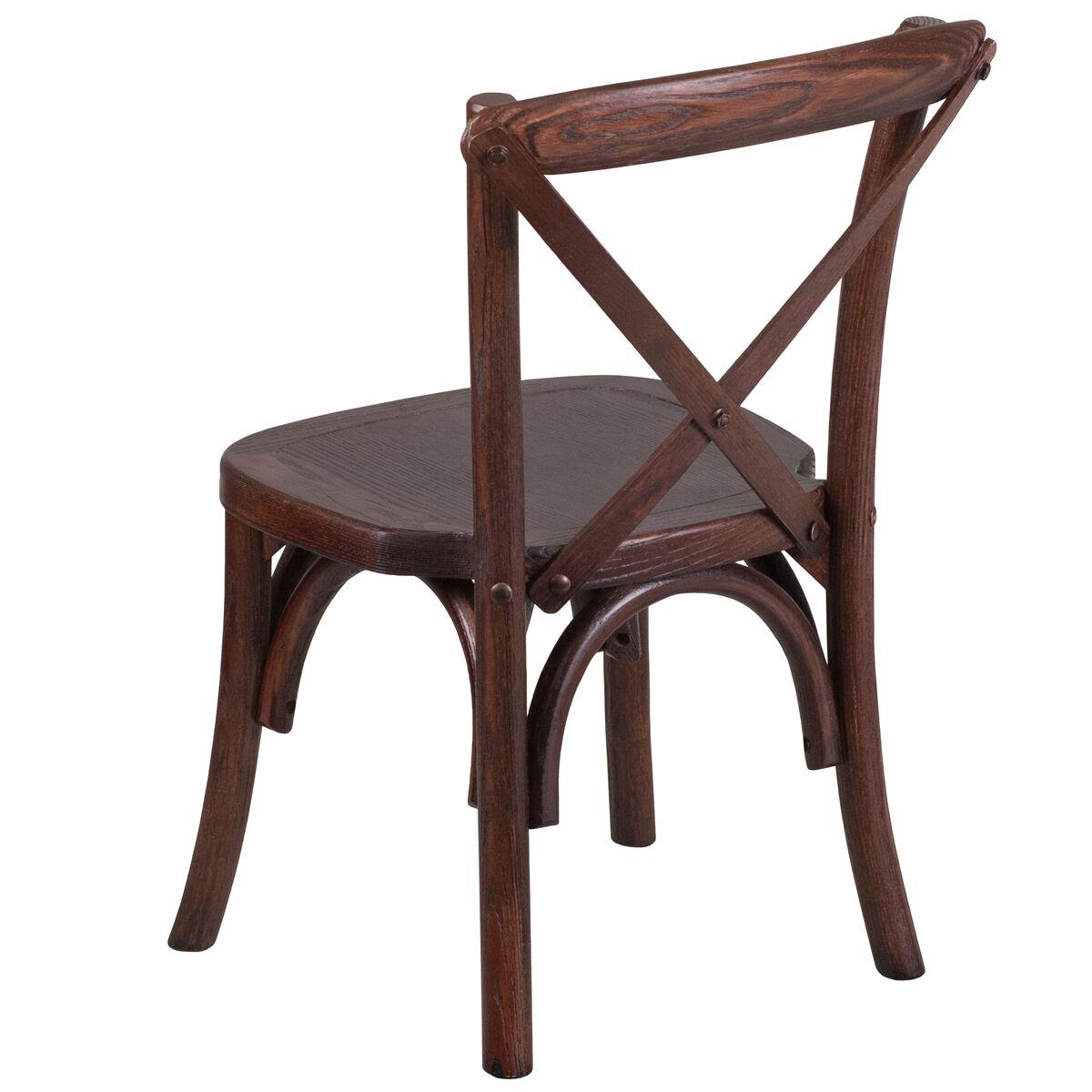 Kid Mahogany Cross Chair Xu X Mah Kid Gg