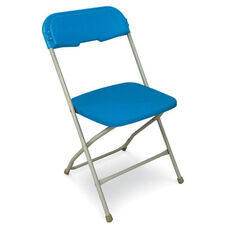Series 5 Steel Frame Stackable Folding Chair with Polypropylene Seat and Back