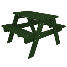 POLYWOOD® Kids Collection Picnic Table - Green