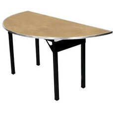 Original Series Half Round Banquet Table with Plywood Top - 24
