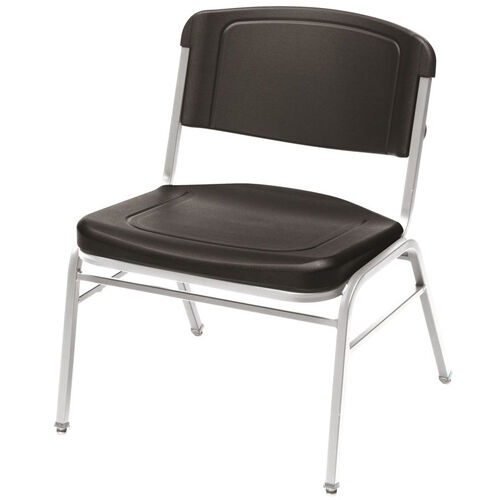 Our Rough N Ready 350 lb. Capacity Big & Tall Stack Chair - Set of Four - Black is on sale now.