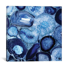 Agate In Blue II by Danielle Carson Gallery Wrapped Canvas Artwork