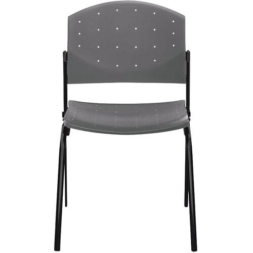 Our Eddy 4-Post Black Stack Side Chair is on sale now.