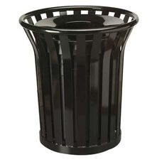 Rubbermaid Commercial Products Americana Steel Waste Receptacle - 12.1