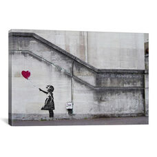There Is Always Hope Balloon Girl by Banksy Gallery Wrapped Canvas Artwork