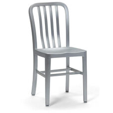 Welded Brushed Aluminum Chair