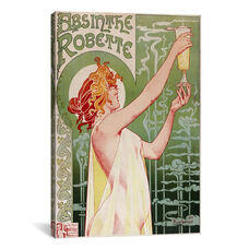 Absinthe Robette Vintage Poster by Privat Livemont Gallery Wrapped Canvas Artwork