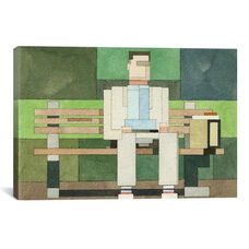 Forrest Gump #1 by Adam Lister Gallery Wrapped Canvas Artwork