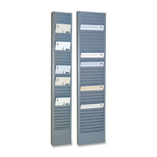 Steelmaster Vertical Swipe Card Rack - 18.7