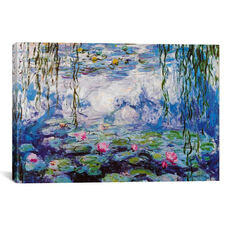 Nympheas by Claude Monet Gallery Wrapped Canvas Artwork