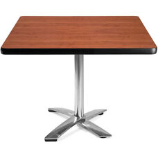 42'' Square Flip-Top Multi-Purpose Table - Cherry