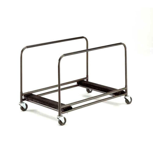 Standard Duty Rectangular/Serpentine Edge Table Caddy with Swivel Stem Casters - 31.25