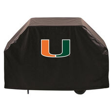 University of Miami Logo Black Vinyl 60